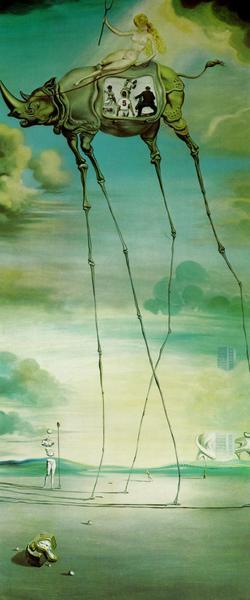 Salvador Dali Celestial Ride