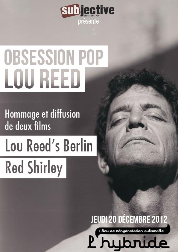 Lou Reed Hybride 20 décembre 2012
