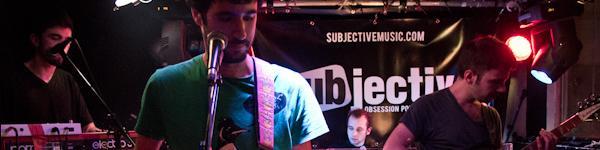 Subjective Live! 6 décembre2012 avec Motorifik